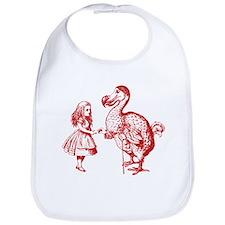 Alice and Dodo Red Bib