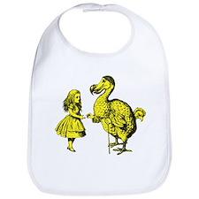 Alice and Dodo Yellow Bib