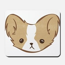Bobble Chihuahua (longhair toffee) Mousepad