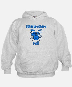 Little Brothers Roll DRUMS Hoodie