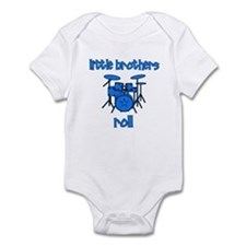 Little Brothers Roll DRUMS Onesie