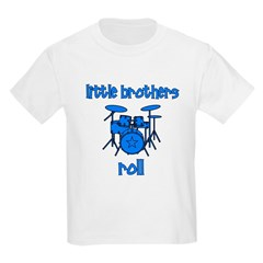 Little Brothers Roll DRUMS T-Shirt