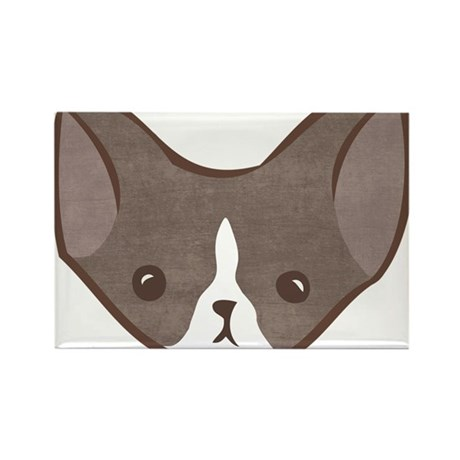 Bobble Chihuahua (shorthair c Rectangle Magnet