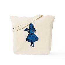 Drink Me Blue Fill Tote Bag