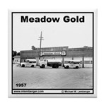 Meadow Gold Dairy Tile Coaster