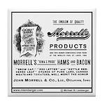 Morrell Ad Tile Coaster
