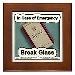 Break Glass Framed Tile