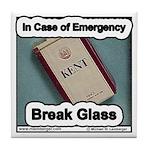 Break Glass Tile Coaster