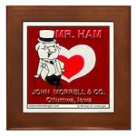 Mr. Ham Framed Tile