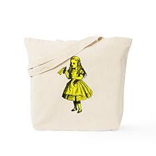 Drink Me Yellow Tote Bag