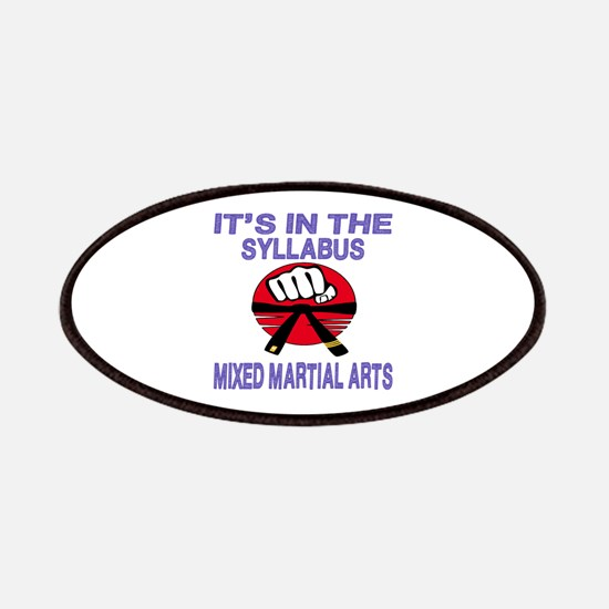 It's in the syllabus Mixed Martial Arts Patch