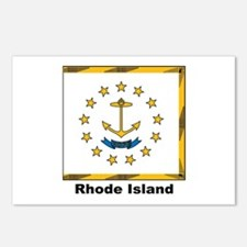 Rhode Island State Flag Postcards (Package of 8)
