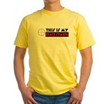 My Peace Symbol Yellow T-Shirt