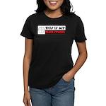 My Peace Symbol Women's Dark T-Shirt