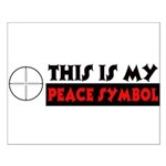 My Peace Symbol Small Poster