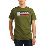 My Peace Symbol Organic Men's T-Shirt (dark)