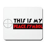 My Peace Symbol Mousepad