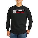 My Peace Symbol Long Sleeve Dark T-Shirt