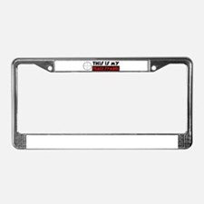 My Peace Symbol License Plate Frame