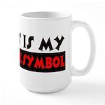My Peace Symbol Large Mug