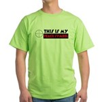 My Peace Symbol Green T-Shirt