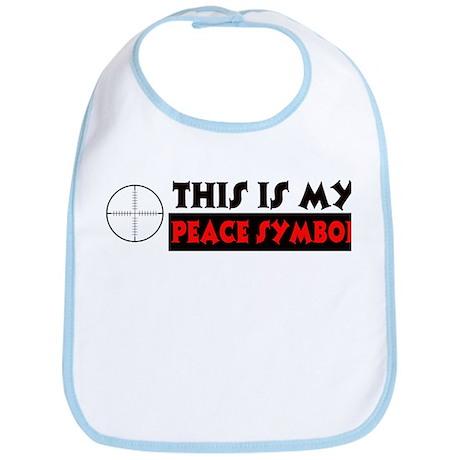 My Peace Symbol Bib