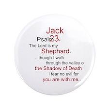 """Jack Shephard-Psalm 23/ 3.5"""" Button"""
