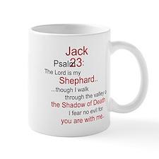 Jack Shephard-Psalm 23/ Small Mug