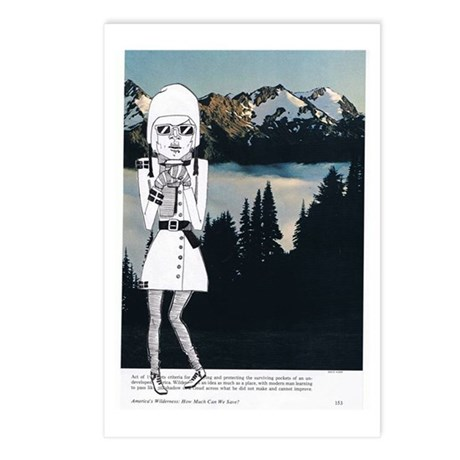 Snow-capped Postcards (Package of 8)