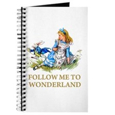 FOLLOW ME TO WONDERLAND Journal
