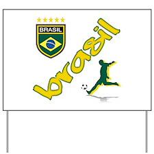 Brazilian World cup soccer Yard Sign