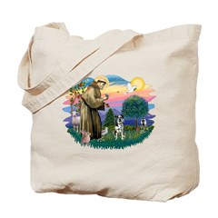 St Francis #2/ Ger Shep #2Catahoula Tote Bag