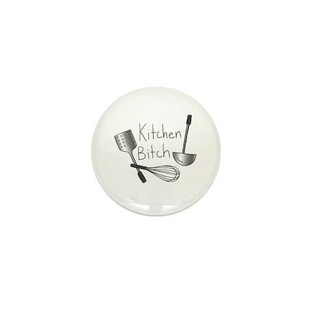 Kitchen Bitch - Mini Button