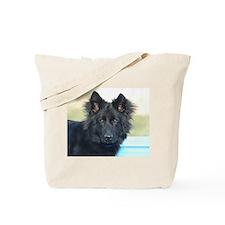 long coated shepherd Tote Bag