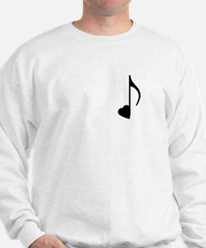 Eighth Love Notes Sweatshirt