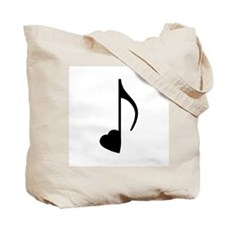 Eighth Love Notes Tote Bag