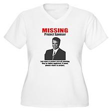 Missing Project Sponsor T-Shirt