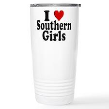 I Heart Southern Girls Travel Mug