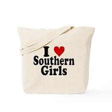 I Heart Southern Girls Tote Bag