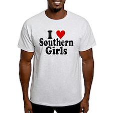 I Heart Southern Girls T-Shirt