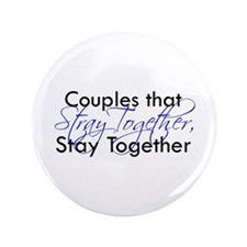 """Couples that stray ... 3.5"""" Button"""