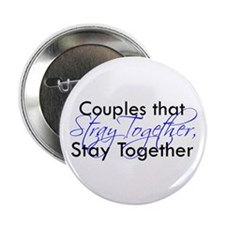 """Couples that stray ... 2.25"""" Button (10 pack)"""
