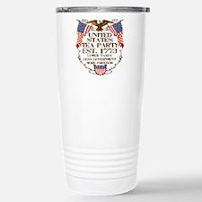 United States Tea Party Stainless Steel Travel Mug