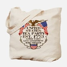 United States Tea Party Tote Bag