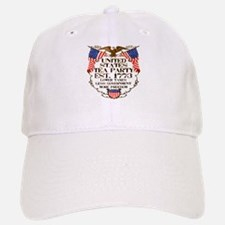 United States Tea Party Baseball Baseball Cap