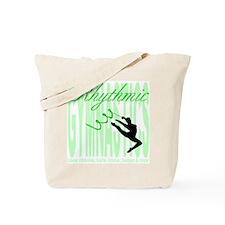 """Mint """"Rhythmic Gymnastics"""" Tote(Design Both Sides)"""