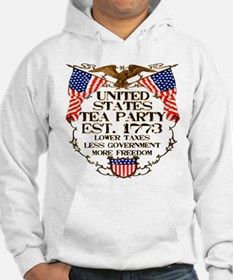 United States Tea Party Hoodie