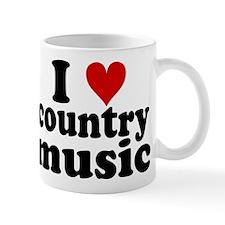 I Heart Country Music Mug