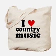 I Heart Country Music Tote Bag
