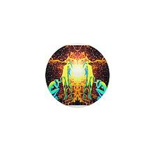 Kosmik Orgone Mini Button